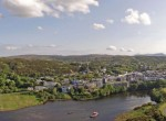 Clifden Quay Aerial Shot
