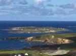 Beach Cottage, Inish Turbot - island view